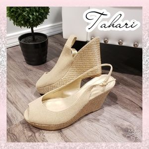 🆕️Tahari wedge 8.5